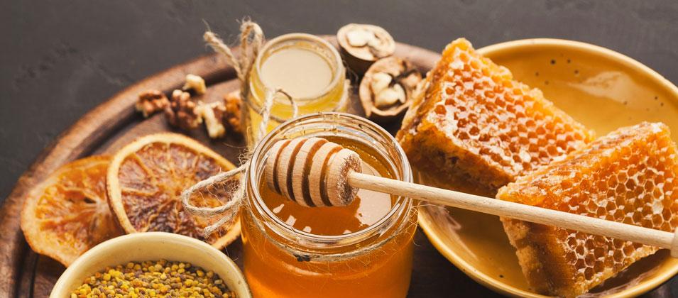 عسل حرارت دیده